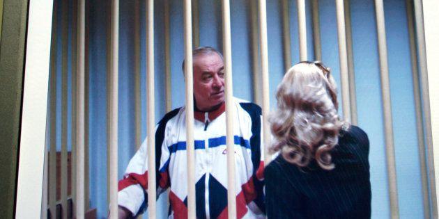 Une image de vidéosurveillance du procès de Sergueï Skripal, en 2006 en