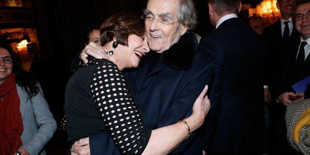 Michel Legrand et Macha Méril se sont rencontrés en 1964 mais ne se sont mariés que 50 ans plus tard...