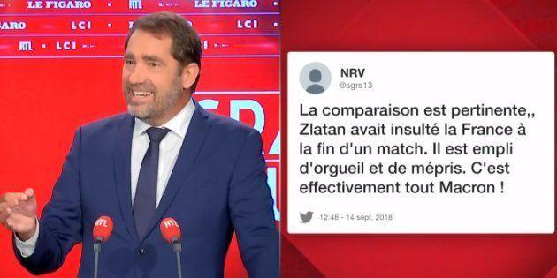 En fait non, Christophe Castaner ne voulait pas comparer Macron à