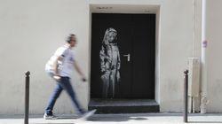 L'œuvre de Banksy au Bataclan a été
