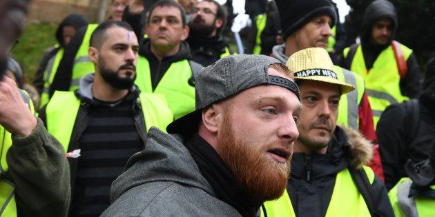 Maxime Nicolle, ici le 12 janvier à Bourges, a été interpellé ce 26 janvier à
