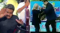 En pleine crise politique, Nicolas Maduro danse la salsa devant ses