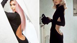 Kim Kardashian se la joue Mireille