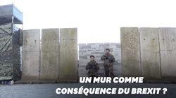 Ces manifestants construisent un mur pour alerter sur les conséquences du