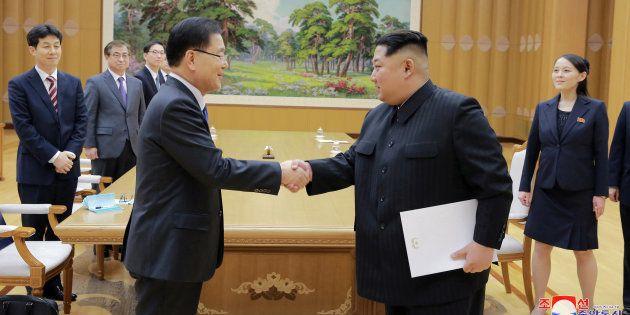 Les deux Corées s'accordent pour tenir un sommet, dans la foulée des Jeux Olympiques