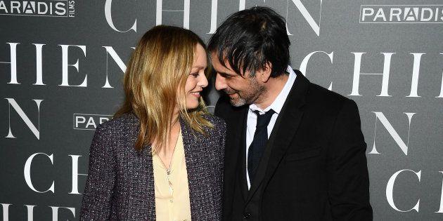 Vanessa Paradis et Samuel Benchetrit complices à la première du film grâce auquel leur couple s'est