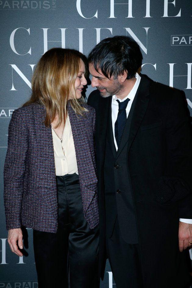 Vanessa Paradis et Samuel Benchetrit à la première du film