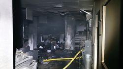 Les locaux de France Bleu Isère incendiés, la piste criminelle