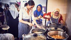 Meghan Markle en cuisine pour soutenir les sinistrés de l'incendie de la Tour