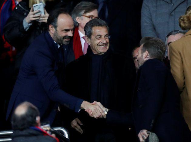 Nicolas Sarkozy et Édouard