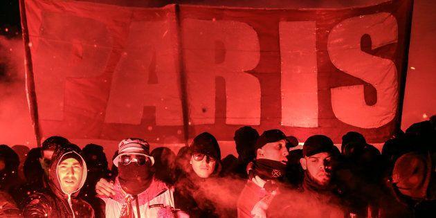 PSG - Real Madrid: les images de la (très) grosse ambiance aux abords du