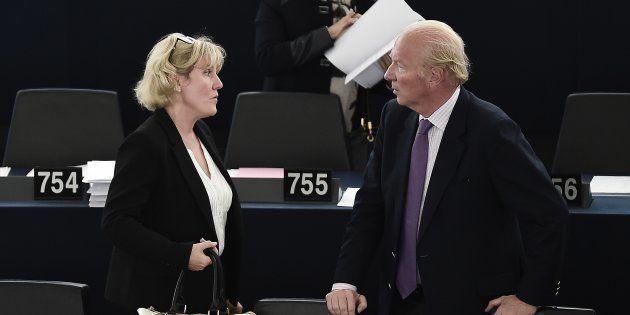 Nadine Morano et Brice Hortefeux siègent actuellement au Parlement européen, à