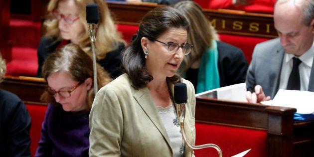Agnes Buzyn à l'Assemblée nationale le 30