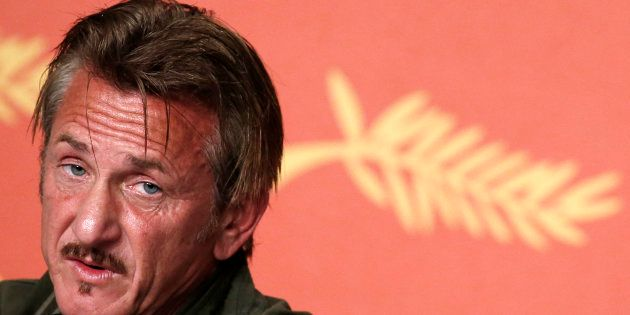 Sean Penn au festival de Cannes en ai