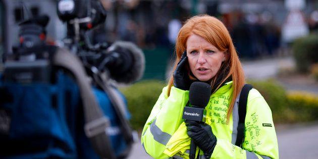 Annoncée la semaine dernière, la liste menée par l'ex-gilet jaune Ingrid Levavasseur accuse une première