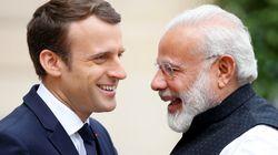 En Inde, Macron ne jure que par le solaire (tout en vendant du