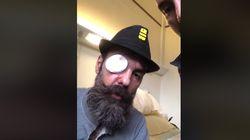 Jérôme Rodrigues appelle les gilets jaunes au calme depuis sa chambre
