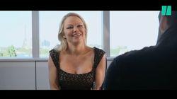 Le drôle d'accueil réservé par Camille Combal à Pamela Anderson pour son arrivée à
