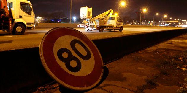 La vitesse sur les routes secondaires sera bien baissée à 80km/h le 1er