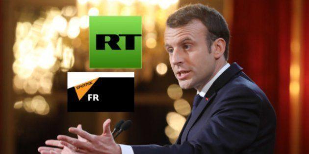 Comme l'avait souligné Macron en visant notamment lRT et Sputnik, la question des médias sous influence...