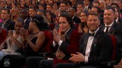 Un effrayant personnage de fiction s'est glissé dans le public des Emmy