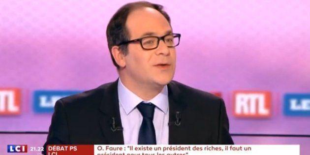 Au débat du PS, Emmanuel Maurel était le sosie de François