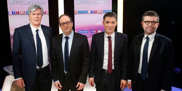 Au débat PS, il n'y avait pas grand monde pour défendre Hollande ce 7 mars