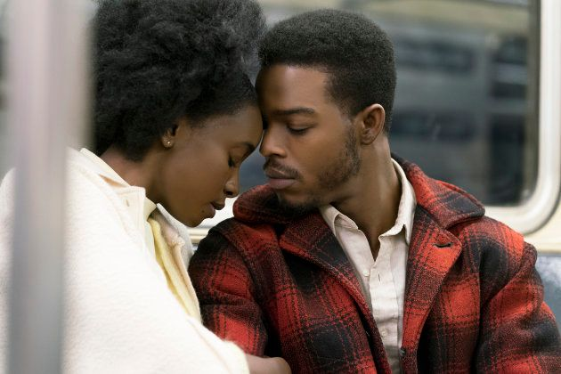 KiKi Layne (Tish) and Stephan James (Fonny star) dans le film de Barry Jenkins