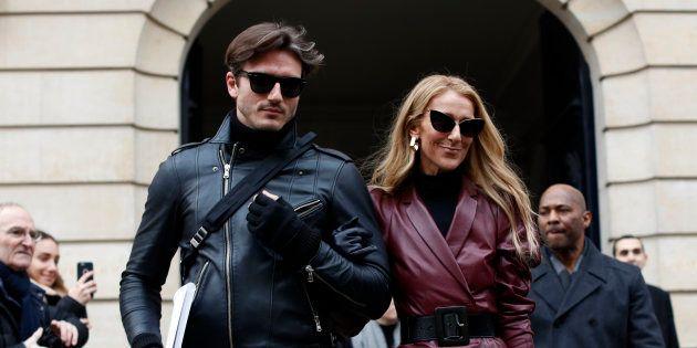 Céline Dion et Pepe Muñoz ce 24 janvier 2019 à