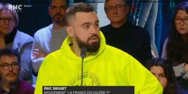 Gilets jaunes: Drouet porte plainte contre Castaner