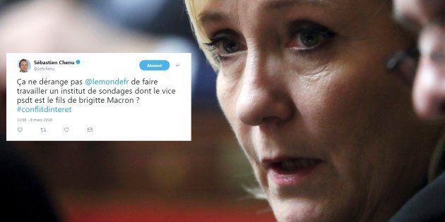 Le fils de Brigitte Macron Sébastien Auzière accusé par le FN d'être derrière ce sondage