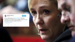Le FN a trouvé un lien entre Brigitte Macron et ce sondage accablant pour Marine Le
