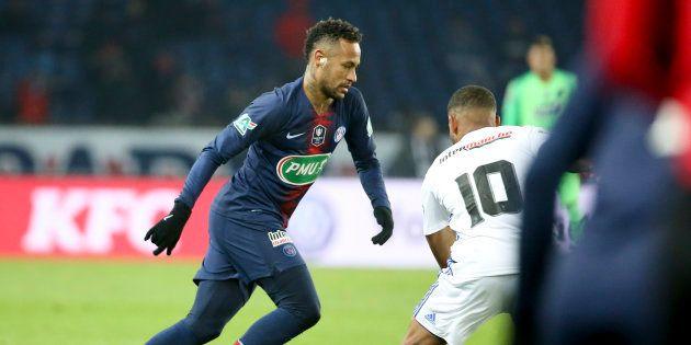 Blessé, Neymar