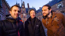 Stéphane Bern part en exploration nocturne avec le youtubeur