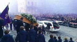 Les images poignantes des funérailles de Davide