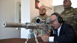 À la télé russe, Poutine montre ses talents de sniper pour faire de la pub à