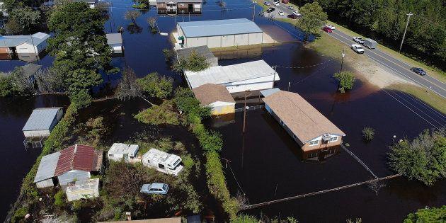 L'ouragan Florence a fait des millions de morts en Caroline du Nord chez les animaux