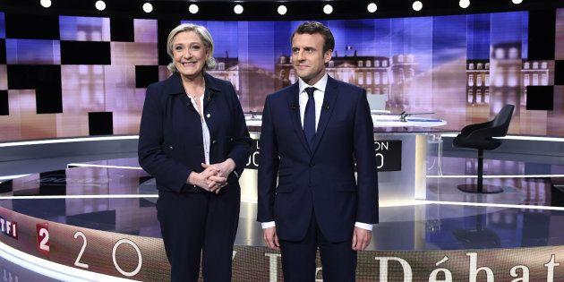 Marine Le Pen compare le débat de l'entre-deux-tour