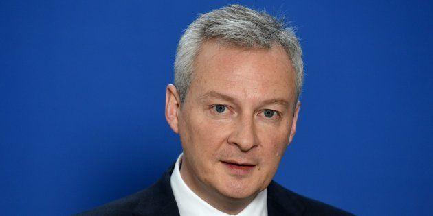 Bruno Le Maire à Paris le 2 mars