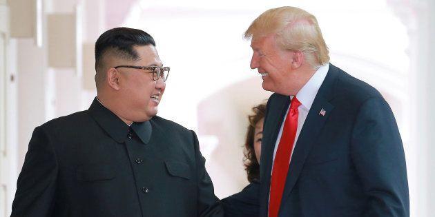 Kim Jong Un veut revoir Donald