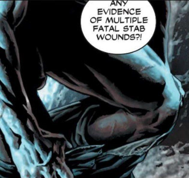 Batman (entièrement) nu dans