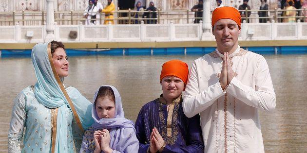 Lors de sa visite en Inde, Justin Trudeau a été accusé