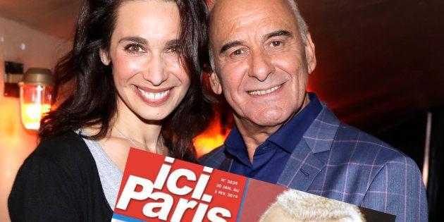 Marie Fugain et Michel Fugain à Paris en octobre