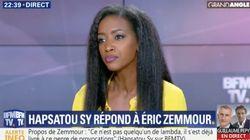 Hapsatou Sy demande à ce que Zemmour soit interdit de