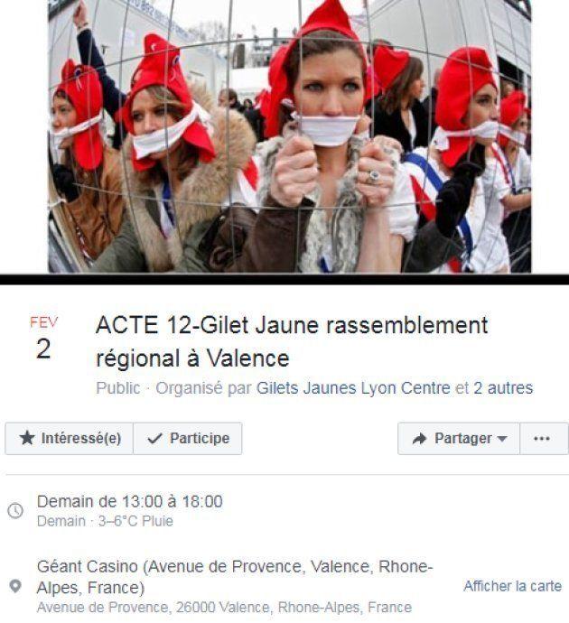 Les gilets jaunes prévoient un rassemblement à Valence pour leur acte