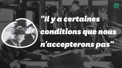 Un enregistrement secret de l'armistice de 1940 sur France