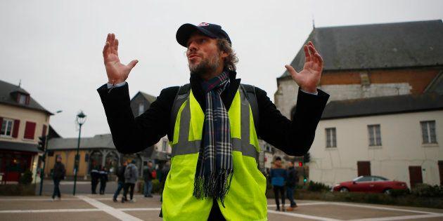 Thierry Paul Valette est à la tête de cette troisième liste gilets jaunes pour les européennes 2019 (...