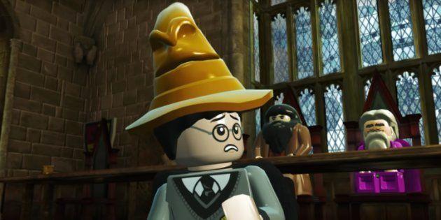 Clip de présentation du jeu LEGO Harry Potter Collection sur PS4. Eh non, ce n'est malheureusement pas...