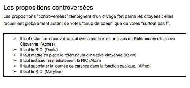 Parmi les propositions les plus controversées, le référendum d'initiative citoyenne (RIC) occupe toujours...