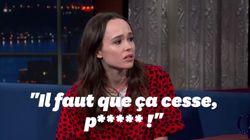 Le coup de colère d'Ellen Page envers Trump et Pence face aux agressions